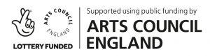Arts Council England funding logo